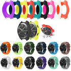 Silicone Watch Screen Cover Case / Wrist Band Strap For Samsung Gear S3 Frontier