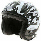 Caberg Freeride Commander Open Face Motorcycle Motorbike Helmet MATT WHITE GREY