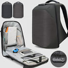 "Water Resistant Business Backpack 15.6"" Laptop bag Charging Port w/ Combo Lock"