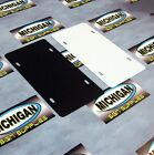 10 Pack of Plastic License Plate Blanks.050  **Create your own Designs!!!**