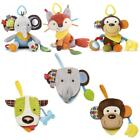 Skip Hop Bandana Buddies Baby Toddler Multi Activity Toy and Puppet Book