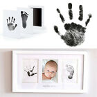 Внешний вид - Baby Footprint Handprint Growth Record Inkless Touch Ink Pad Mom Baby Souvenir