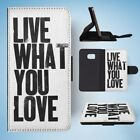 TYPOGRAPHY MOTIVATIONAL QUOTES FLIP WALLET CASE COVER FOR SAMSUNG GALAXY S7 EDGE