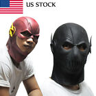Popular The Flash Mask Halloween Cosplay Costume Prop Latex Party Masks US STOCK