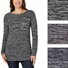 NWT Ellen Tracy Marled Knit Pullover Sweater. Item # 229731. See Sizes & Colors