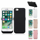 10000mAH Battery Case External Charger Cover Backup For iPhone 6 6S 7 7 Plus US