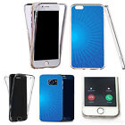 Shockproof 360° Silicone Clear case cover for many mobiles - design ref zx0568