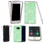 Shockproof 360° Silicone Clear case cover for many mobiles - design ref zx0830