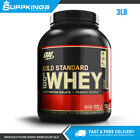 OPTIMUM NUTRITION GOLD STANDARD 100% WHEY 3LB PROTEIN BLEND ISOLATE WPI // WPC