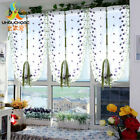 Tulle Voile Roman Curtains Embroidery Flower Window Curtain Home Decoration New
