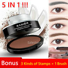 EYEBROW STAMP Powder Palette Natural Definition Brow Makeup Cosmetic Brown Grey