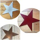 "12"" industrial metal rustic shop home circus fairground carnival COLOURED STAR"