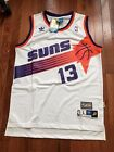 NWT Steve Nash NBA Phoenix Suns Jersey Men Throwback Purple White Black