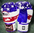 twins sparring gloves - TWINS FANCY BOXING GLOVES FBGV-44 USA FLAG 16 oz  SPARRING MUAY THAI  MMA K1