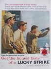Authentic 1950's Print Advertisement Cigarettes * * 10.5