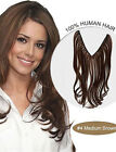 Hidden Secret Halo wavy Human Hair Extensions Invisible Wire Flip on Hair 100g