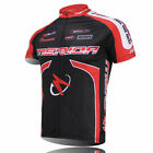 Merida Men's Cycling Biking Jersey Short Sleeve Cycle Bike Shirt Top Red / Green