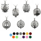 Diffuser Locket Aromatherapy Essential Oil Perfume Magnetic Pendant Necklace