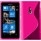 Cases for Nokia Lumia 800/800c TPU Silicone Flip Case Cover Cover Shell