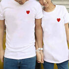 Neu Unisex Comme Des Garcons CDG Play Red Heart Short Sleeve T shirt Shirt