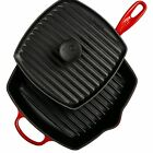 LE CREUSET SIGNATURE CAST IRON PANINI SET