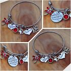 Personalised BIRTHDAY Gifts Bracelet 18th 21st 30th 40th 50th - Gift for Her ##
