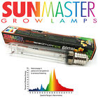 Sunmaster 600W Super Dual HPS Deluxe Grow Lamp Grow Light Bulb Hydroponics