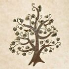Wall Art Metal Sculpture Tree and Leaves Home Office Decor Hanging