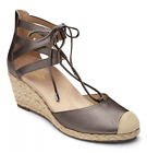 Vionic Aruba Calypso Espadrilles Wedge Jute Women's Sandals NEW Retail $140