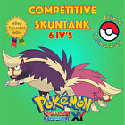 Pokémon ORAS / XY – COMPETITIVE SKUNTANK 6IV's Shiny / No Shiny