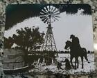 COWBOY LIVING ON THE LAND - MOUSE PAD - Great GIFT idea