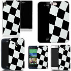 hard durable case cover for most mobile phones - check flag