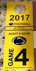 Купить Penn State Nittany Lions vs. Indiana Hoosiers Yellow Parking Pass 9/30/17