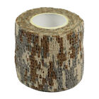 Outdoor Shooting Camouflage Stealth Army Tape Hunting Waterproof Cam Wrap 1 Roll