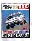 Retro Touring Car T-shirt: Peter Brock HDT Commodore King of the Mountain