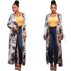 New Fashion long sleeve Cardigan Jacket Women Casual Printed Swimsuit Size S-XL