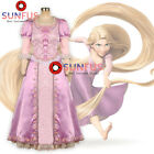 Halloween Movie Tangled Rapunzel Princess Dress Cosplay Costume Custom Made