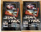NEW 1991 Impel STAR TREK Series II ~ 2 Factory Sealed TRADING CARD BOXES