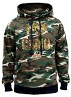 Men's I Love Camo Mossy Oak Camo Hoodie Sweater Military Native Hunting Outdoors