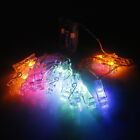 2m 20 LED Creative Clip Lamp String Light Colorful Light Transparent-NEW