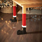 Christmas Chair Table Foot Socks Boots Cover Dinning Room Party Decor Supply