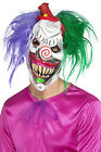 Men's kolorful killer klown dressing up halloween IT scary horror mask Clown