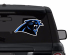 CAROLINA PANTHERS decal sticker for car, laptop,yeti FULL COLOR
