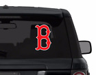 BOSTON RED SOX decal sticker for car, laptop, corn hole RED WHITE die cut vinyl on Ebay