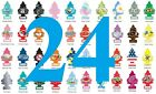 Pack of 24 ~ Little Trees Car Air Freshener, FREE SHIPPING