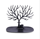 Jewelry Deer Tree Stand Display Organizer Necklace Ring Earring Holder Show Rack