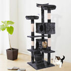 """67"""" Cat Tree Condo Tower Pet Kitty Play Climbing Furniture w/ Scratching Post"""