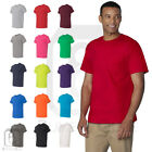 Gildan Mens Heavy Cotton T-Shirt with a Pocket Plain Pocket Tee S-3XL - 5300 New image