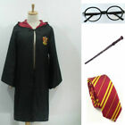 Adult & Children Harry Potter Hogwarts Tie Glasses Wand Cape Cloak Robe Costume