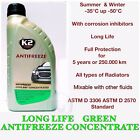 K2 Turbo AntiFreeze Car Coolant LONG LIFE GREEN 5 Years Protection CONCENTRATED